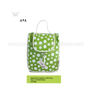 Oem factory waterproof hanging travel receive organizer cosmetic makeup bag