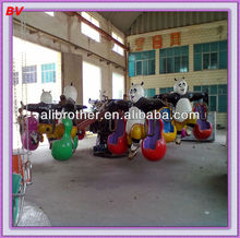 2013 new amusement ride products naughty kungfu panda