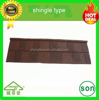 china factory colorful stone chips coated metal roof tile