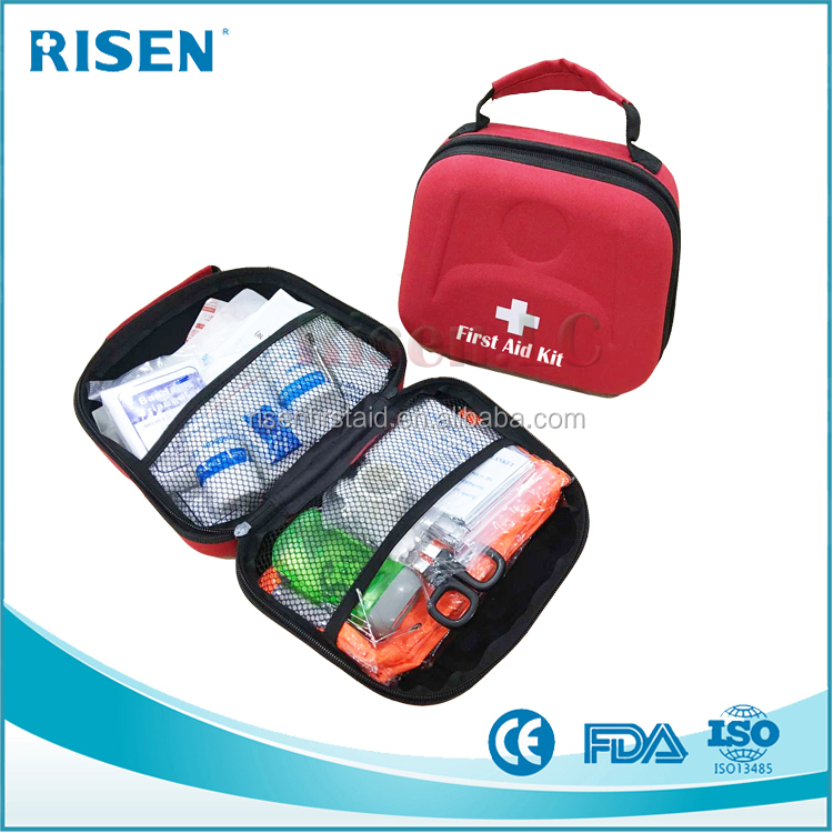 2016 hot sell first aid kit for car emergency