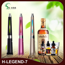 2017 Newest drunk vapor pen H legend 7 kit with water filter H7