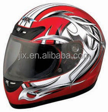 cheap price full face lightweight high scooter helmets JX-A101 DOT certificate