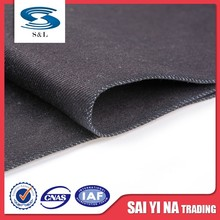 Polyester / cotton poly denim fabric clothing textile material manufacturers