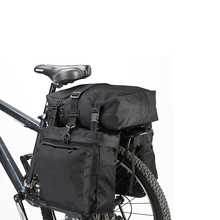 1TL0160 Multifunction Road Bike Bag Bicycle Pannier Rear Seat Trunk Bag