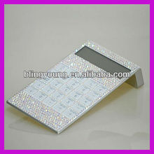 Factory custom School hot selling crystal bling calculator for students