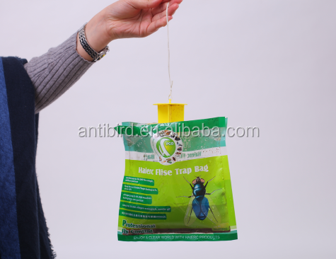 Fly trap bags HC4215 Outdoor Disposable Fly Catcher Control Trap with Attractant, Insecticide Free
