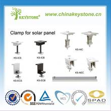 Solar Panel Mid and End Clamp for PV Solar Mounting Structure