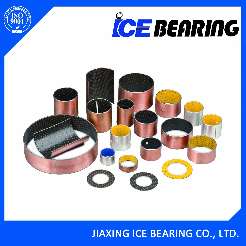 ICE20 SF-2 Oilless DX POM self lubricating sliding hydraulic cylinder bushing for gear pump