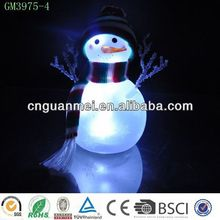 glass snowman decoration / Christmas snowman