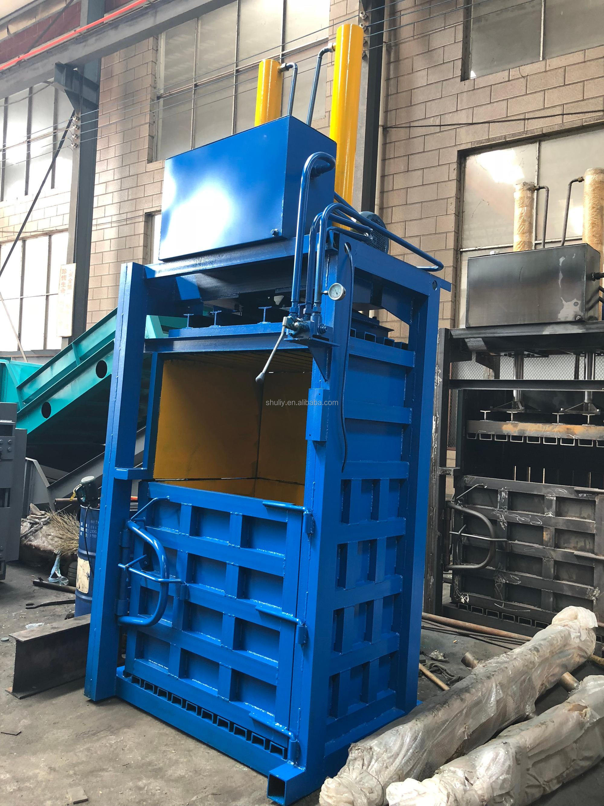 Save labor recycling plastic bottle baler machine price for sale