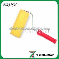long handled sponge roller brush,for oil and water painting,glue roller applicator