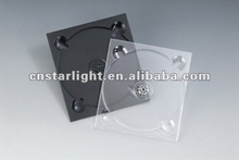 5mm single smooth black CD Digi pack tray