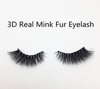 Top Quality 3D 100% Real Mink Fur Eyelash 3d faux Mink Eyelashes In Stock