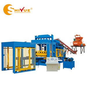 Shandong SHIYUE QT10-15 hollow block brick making machinery equipment