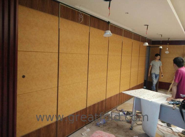 2019 new design aluminum frame diy movable partition wall for hotel
