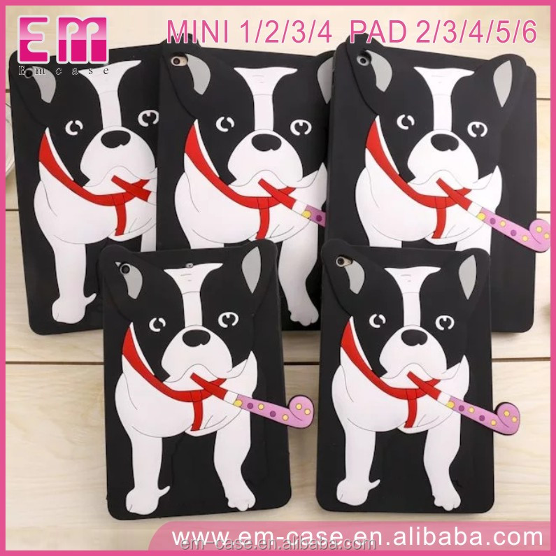 New Cute dog mobile phone case French Bulldog phone case for ipad mini