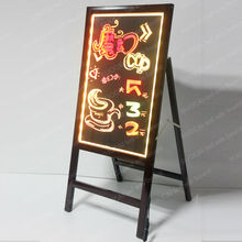 new products christmas 2013 led fluorescent writing wall boards