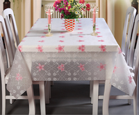 New designed friendly PE printed tablecloth