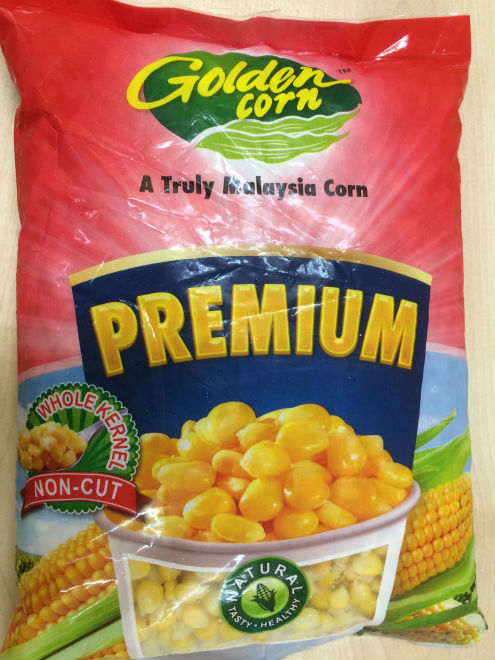 Non Machine Cut Frozen Sweet Corn