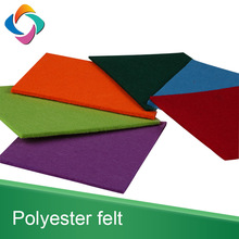 Multicolor Polyester Hard Felt Fabric Sheets Nonwoven Diy Craft