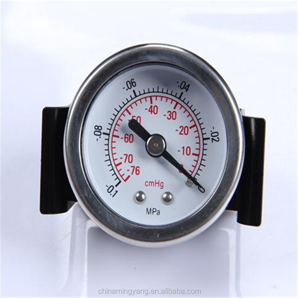 Specially designed Hot Sale High Quality clear to read Water Pressure Test Gauge