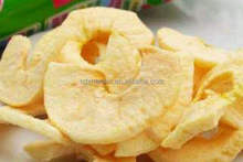 Pure natural dried apple crisps / primary taste apple chips