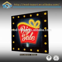 hot china products wholesale snap frame led light box
