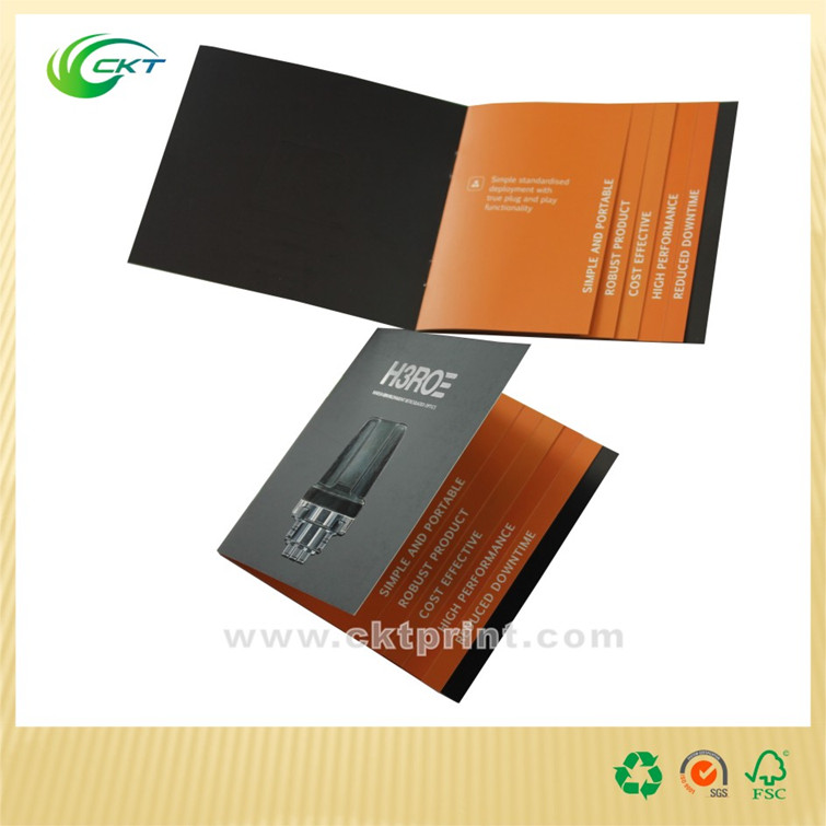 2016 Hottest Luxury cheap catalog/booklet/brochure printing with Deboss and Spot UV coating