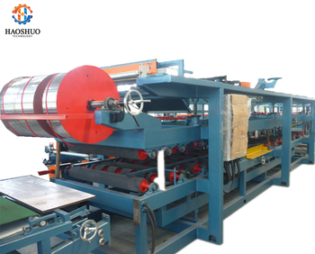 S Lock/ Z Lock EPS/ Rock Wool Sandwich Panel Production Line