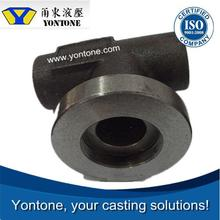 Yontone Efficient and Reliable Manufacturer T6 QT400-18 valve body ductile iron clay sand casting