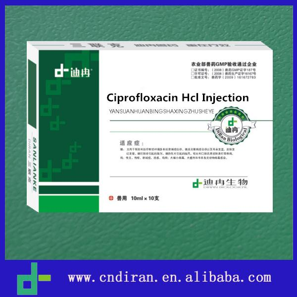 Wholesale Medicines Importers in Africa Ciprofloxacin Hcl Injection