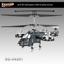 4CH Avatar New design RC helicopter with Gyro