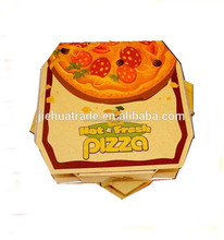Pizza Use and Corrugated Board Paper Type food grade greaseproof pizza box