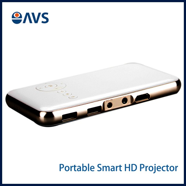 New Arrival 8G Memory DLP Smart Mini Pocket Projector for Iphone & Android