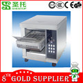 Shentop STXN-B180 Stainless Steel Bun Toaster conveyor Vertical Conveyor Bun Grill Toaster for commercial