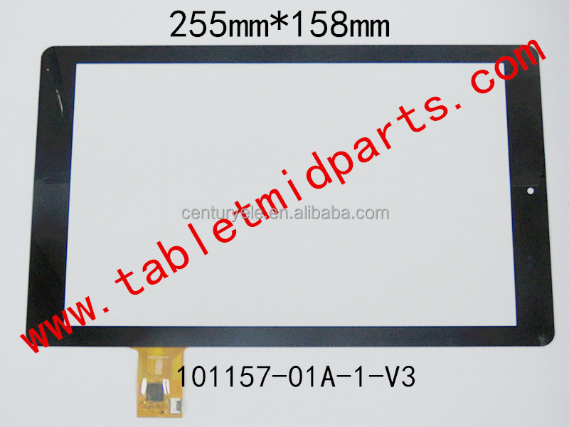 Tablet MID Replacement 10.1 inch touch screen panel 101157-01A-1-V3