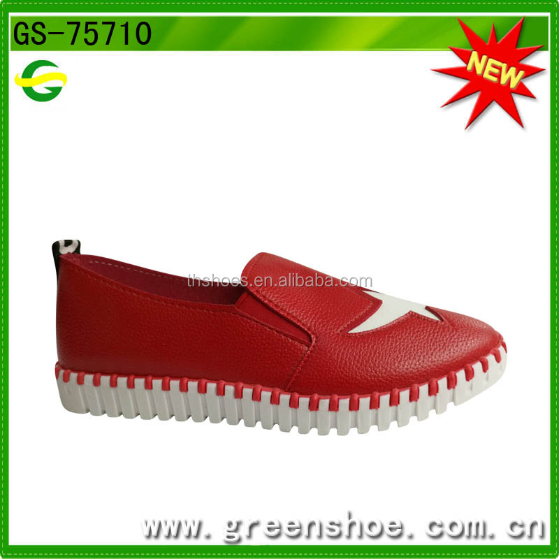 China new fashion style flat shoes for women