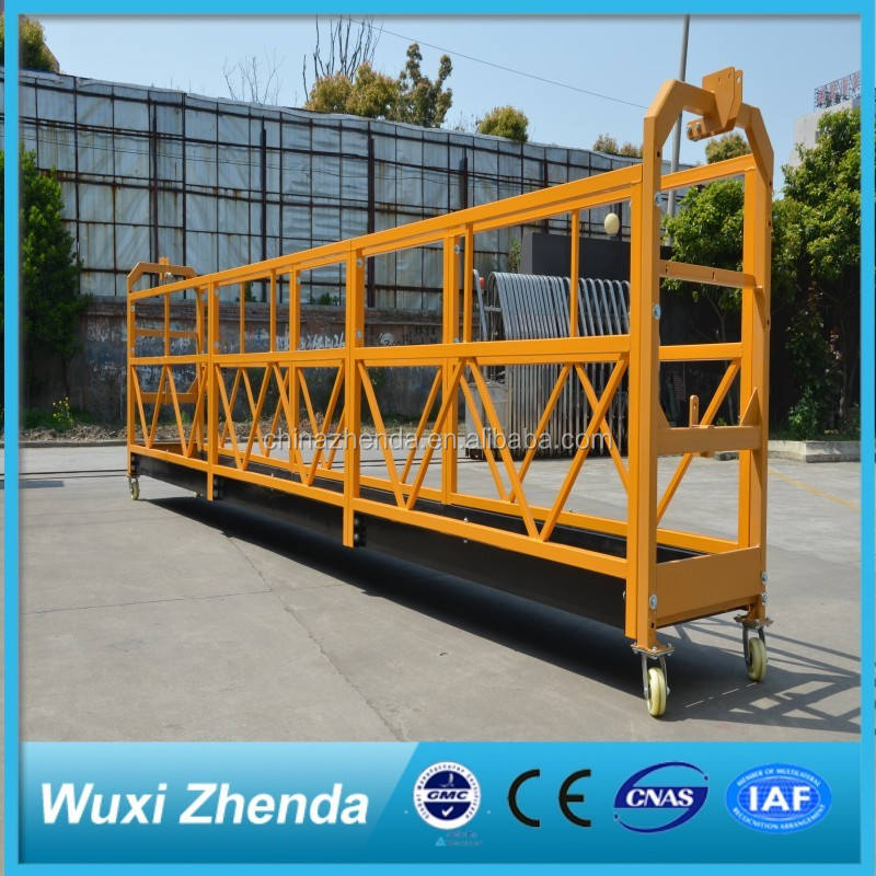 Window Fabrication Mobile Zlp Suspended Lifting Platform with Rope