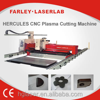 Top saler HERCULES Plasma cnc cutting machine