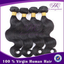 hot sale 100% human natural color 7A grade peruvian wavy hair weft lot