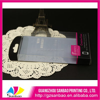 transparent plastic packaging box for cell phone case