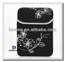 "hot sale! fashion 13"" neoprene laptop sleeve, neoprene computer sleeve, neoprene notebook sleeve with beautiful pattern"