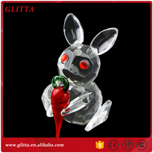 Glitta Lovely Crystal Zodiac Animal Rabbit,Bunny for Easter and Decoration YX012