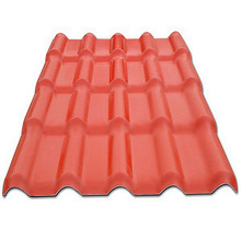 heat resistance materials curved roof panel red clay roof tiles