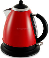 1.7L Stainless Steel Red color changing electric kettle