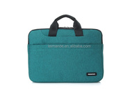 14 inch pu neoprene laptop sleeve with soft material