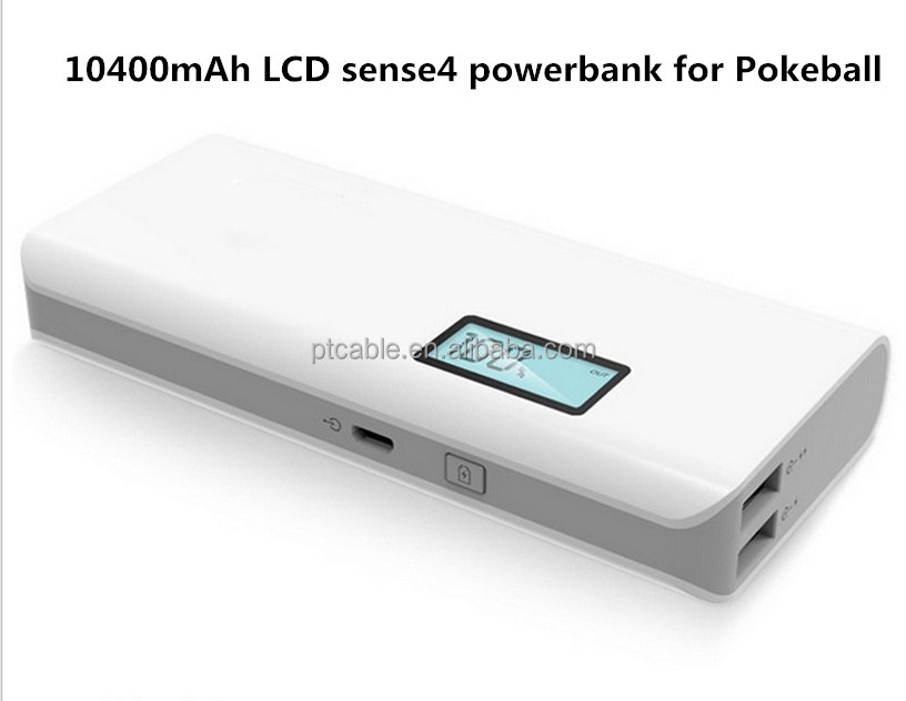Competitive price Dual USB LCD Screen Power Bank 10400mAh Portable Backup Battery Charger