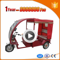 roof style 3 wheel moped with CE certificate
