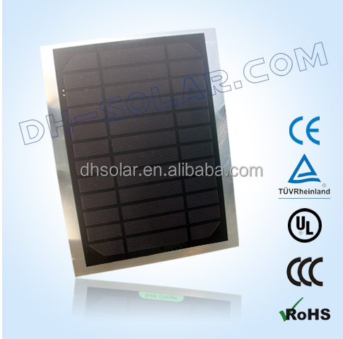 6W Mono Solar Panels for solar bag and other charging device
