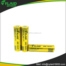 3.7V New Cylaid 3000mAh 40A 18650 rechangeable li-lion battery with color Golden and Purple